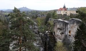 The chateau of Hrubá Skalá