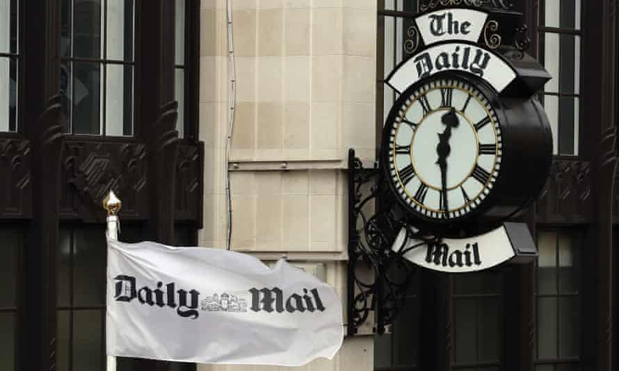 Northcliffe House, where the offices of British newspapers the Daily Mail and Mail On Sunday are located