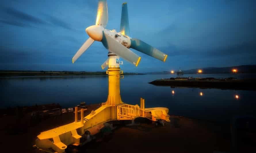 The Edinburgh-based Atlantis Resources hopes the project will eventually have 269 turbines and provide enough electricity to power 175,000 homes.
