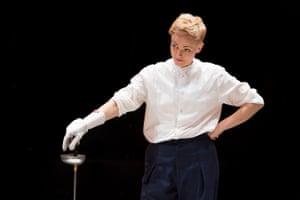 Maxine Peake as Hamlet, directed by Sarah Frankcom in 2014.