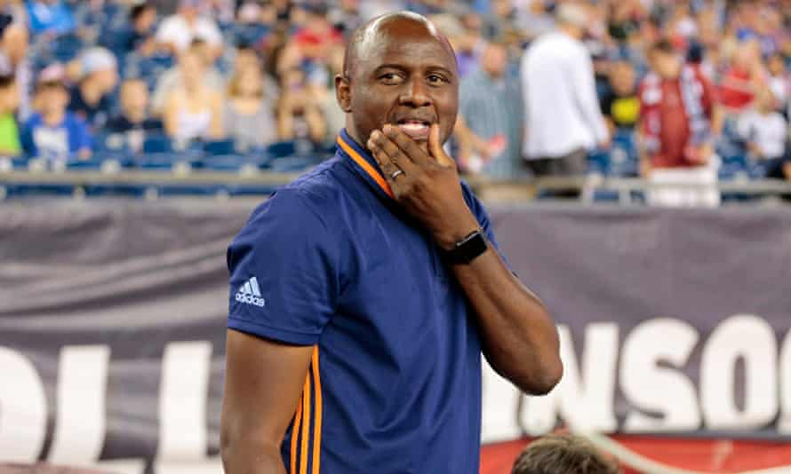 Patrick Vieira has been linked to the vacant job as USA coach but  has distanced himself from such speculation