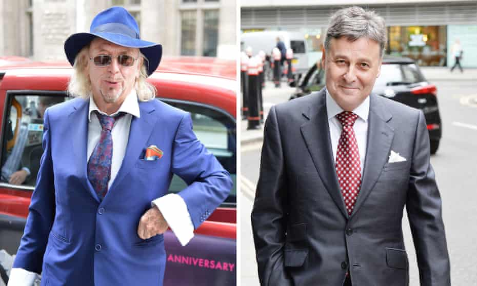 Owen Oyston (left) says he is trying to find a 'safe pair of hands' to buy Blackpool. Valeri Belokon (right) hopes to get the go-ahead from the EFL to take over the club.