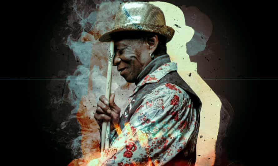 Solid sideman and a spacious soloist ... Tony Allen.