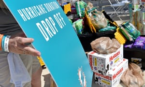 Miami Dolphins are collecting items at Hard Rock Stadium to send to the Bahamas after Hurricane Dorian.