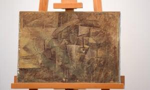 Picasso's La Coiffeuse