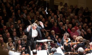Mariss Jansons conductors the Royal Concertgebouw Orchestra in Amsterdam in March 2014. Many concerts with Jansons and others are now available on the orchestra's website.