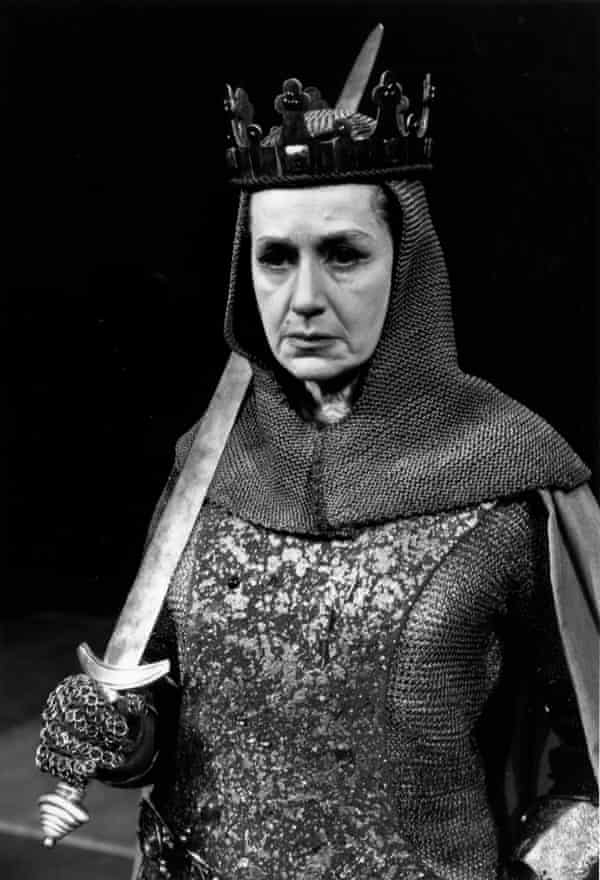 Peggy Ashcroft as Queen Margaret in The Wars of the Roses.