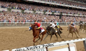 Justify ridden by Mike Smith