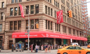 The Strand bookstore in New York, New York.