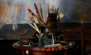 Messy business: A re-creation of a studio used by the artist JMW Turner.