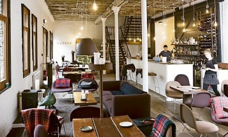 Photograph of Timberyard restaurant