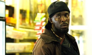 Barack Obama's favourite ... Michael K Williams as Omar Little in The Wire. Photograph: HBO