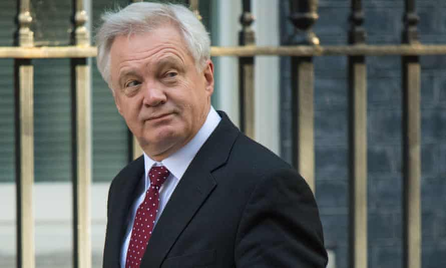 Brexit secretary David Davis: not making much progress in negotiations, contrary to expectations.