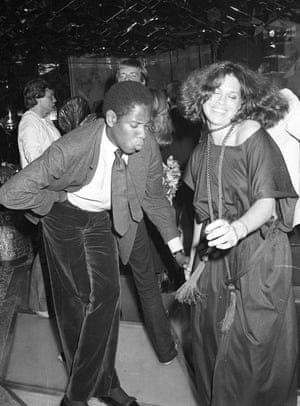 Talley found a home in 70s bohemian New York ... dancing with an unidentified guest at Regine's in 1977. Photograph: Darleen Rubin/Penske Media/Rex/Shutterstock