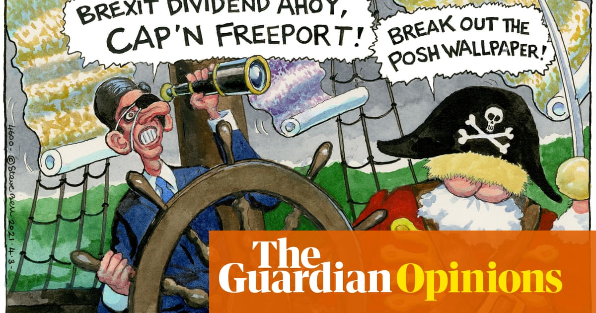 Steve Bell on Rishi Sunak's budget and Boris Johnson's renovations – cartoon