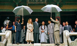 Paul and Annita Keating during a visit to South Korea in 1993