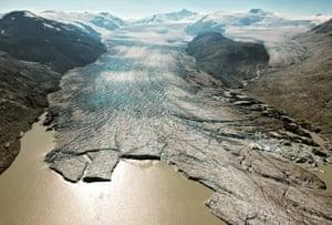 James Balog, Bridge glacier, British Columbia, 2009