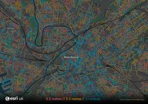 Manchester zoom map .