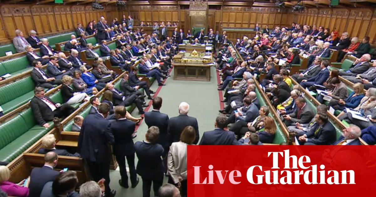 Brexit: Early election bill likely to clear Commons as amendments extending franchise not selected - live news