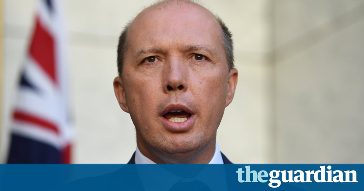 Manus Island: Peter Dutton rejects MP's attack comparing him to 'a terrorist'