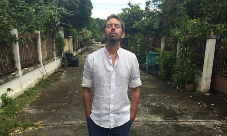 Peter Dahlin near his home in Thailand
