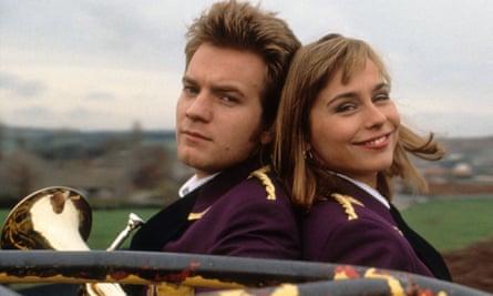 'Ewan and I became like muckers' … Ewan McGregor and Tara Fitzgerald in the 1996 film.
