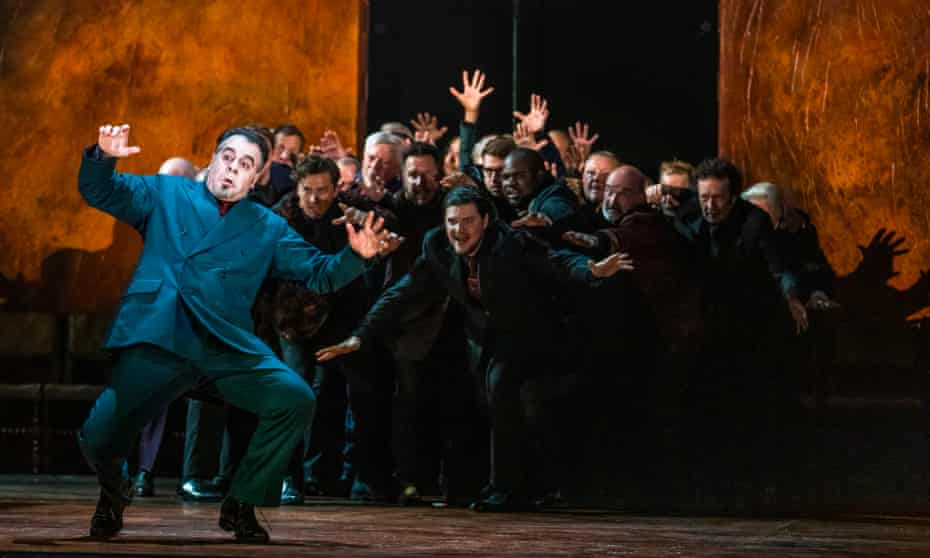 Utterly compelling: Carlos Álvarez as Rigoletto in the Royal Opera House's new production