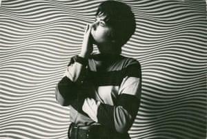 Artist Bridget Riley, May 1964