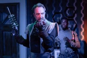 Simon Thorp and Kwaku Mills unleash sci-fi silliness.