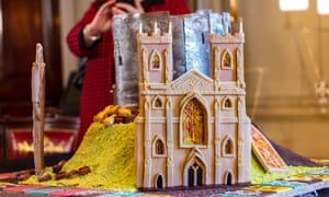 A chocolate York Minster at York Chocolate Festival