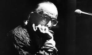 Larry Adler, harmonica player.