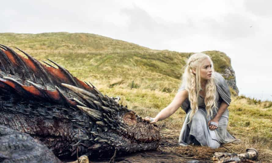 A scene from Game of Thrones series 5