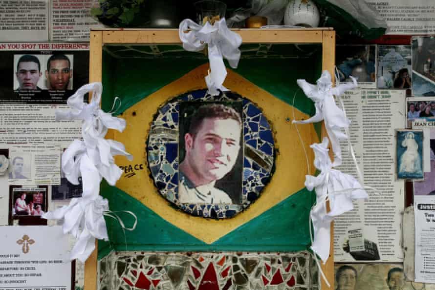 the memorial to Brazilian Jean Charles de Menezes in Stockwell.