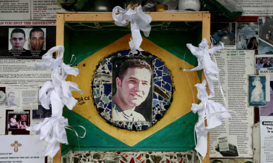 Jean Charles de Menezes memorial in Stockwell, London