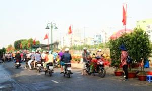 motorbike motorcycle helmet Saigon Ho Chi Minh City, Vietnam