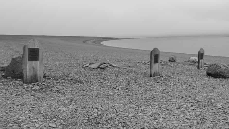 The graves on Beechey Island.