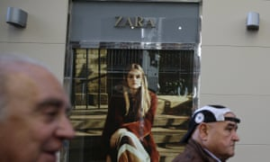 Zara owner dismisses China slump fears as it reports 20