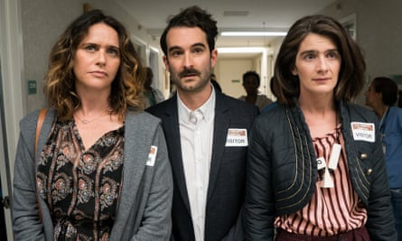 The Pfeffermans ... Sarah (Amy Landecker), Josh (Jay Duplass) and Ali (Gaby Hoffmann).