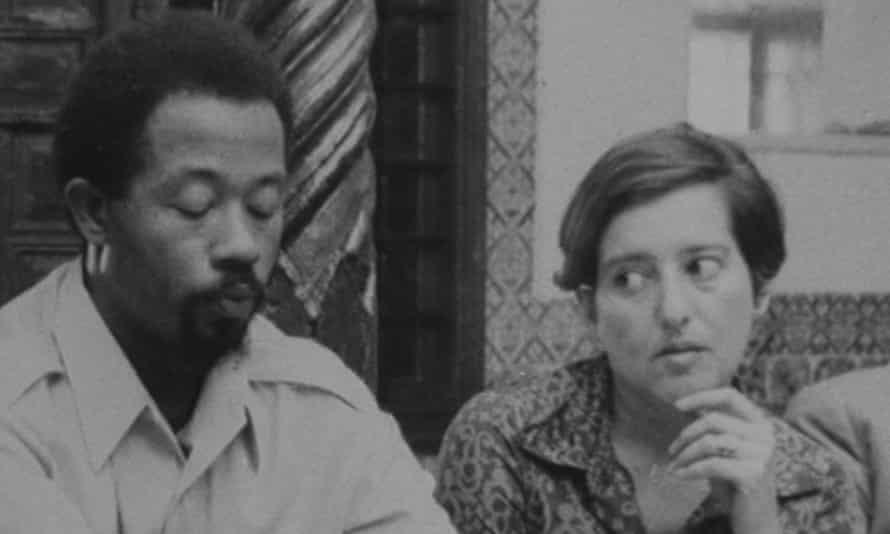 In Algiers … Eldridge Cleaver with Elaine Mokhtefi.