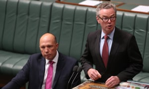 Peter Dutton and Christopher Pyne