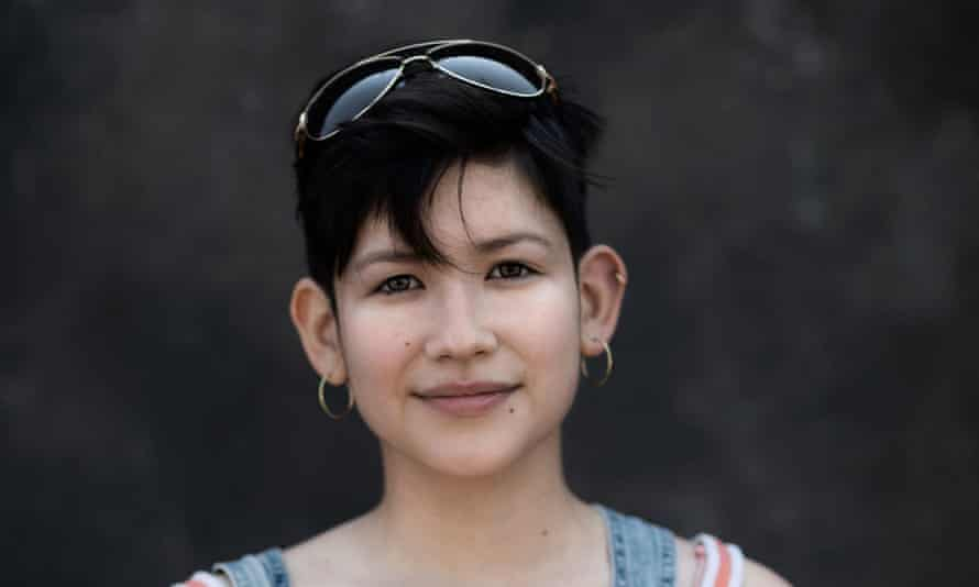 'When I was younger I didn't want to be Asian at all, but it doesn't bother me now': Liz Loginova, North Korean/Russian.