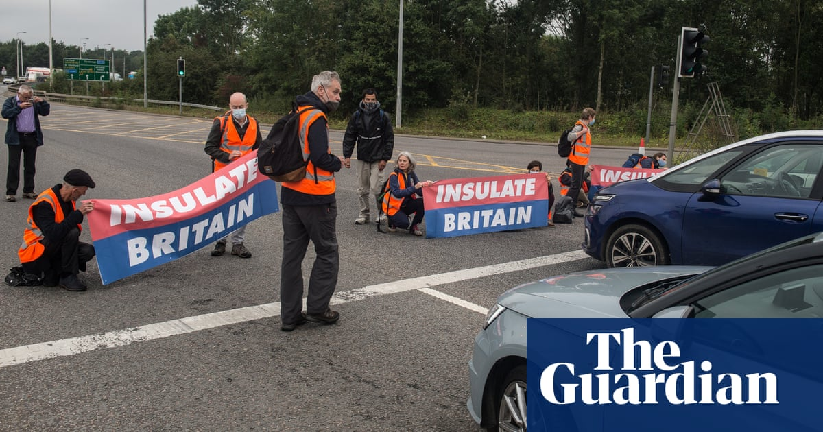 Motorway blockades and green new deal crusaders: the UK's new climate activists