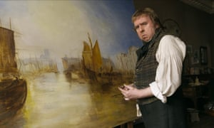 Timothy Spall in Mr Turner.
