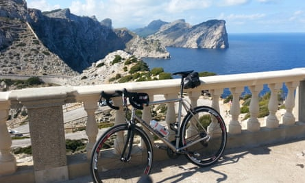 Taking in the view at Cap Formentor, Mallorca
