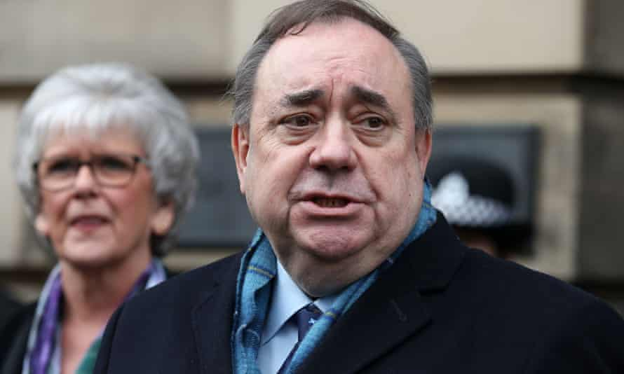 The allegations were made to an internal government inquiry in 2018, which was later struck out after a legal challenge from Salmond