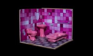 Alasitas festival model representing having an indoors private bathroom.