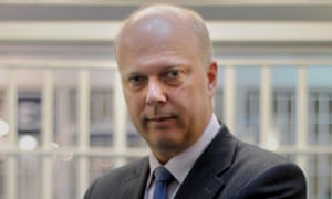 Chris Grayling during his time as justice secretary