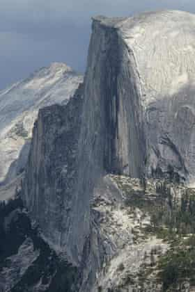 Half Dome in August of 2011.