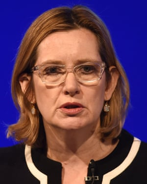 Amber Rudd conceded that stop and search had been used badly in the past.