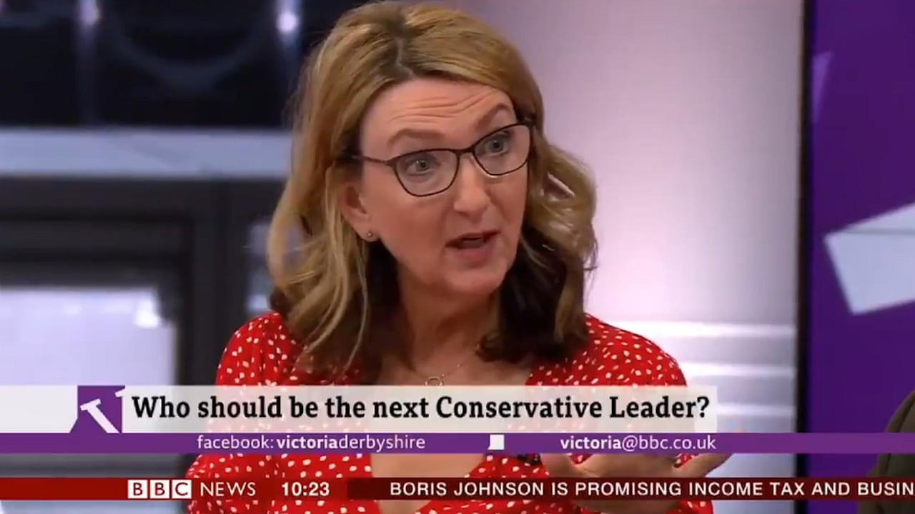 Victoria Derbyshire Accidentally Swears When Saying Jeremy Hunt Video Politics The Guardian